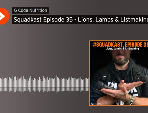 Squadkast: Episode 35- Lions, Lambs & Listmaking
