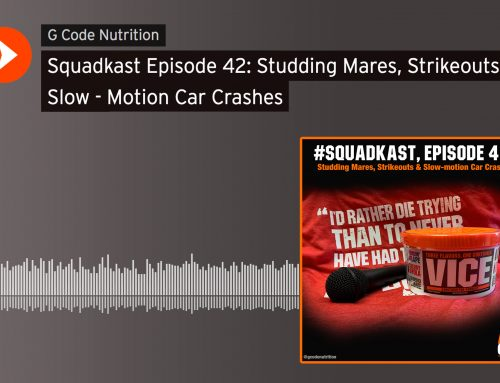 Squadkast Episode 42: Studding Mares, Strikeouts & Slow – Motion Car Crashes