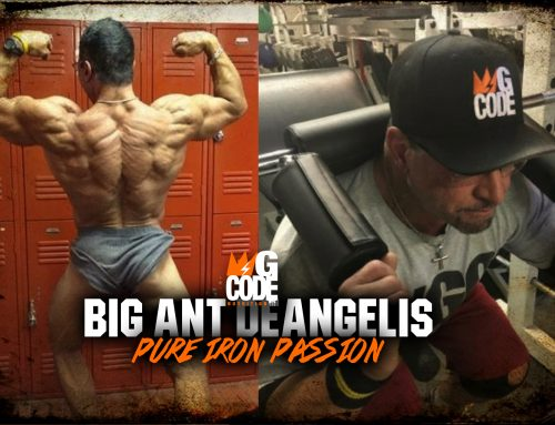 Big Ant DeAngelis: Pure Iron Passion