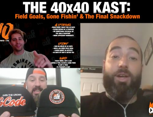 The 40x40Kast – Field Goals, Gone Fishin' & The Final Snackdown