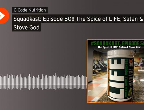 Squadkast:Episode 50!! The Spice of LIFE, Satan & Stove God